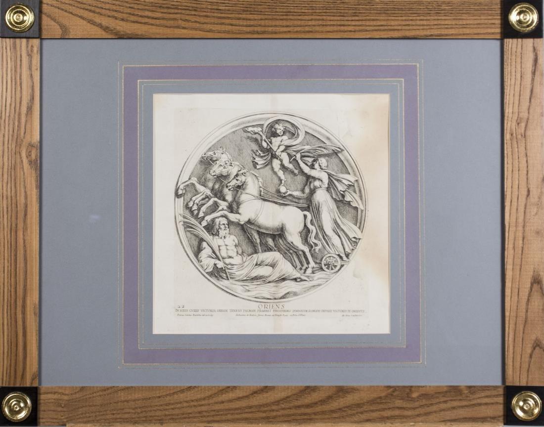 Six Vintage Neoclassical Engravings - 5