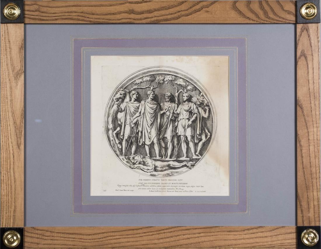 Six Vintage Neoclassical Engravings - 6
