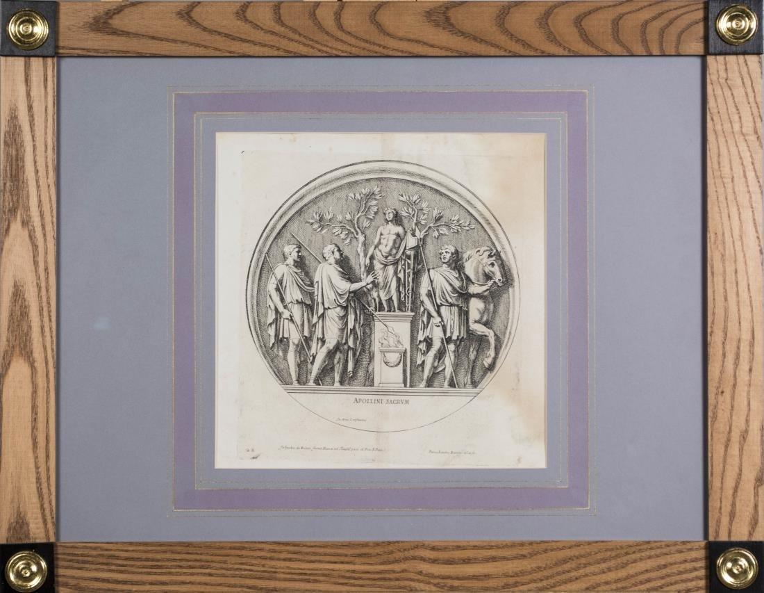 Six Vintage Neoclassical Engravings - 7