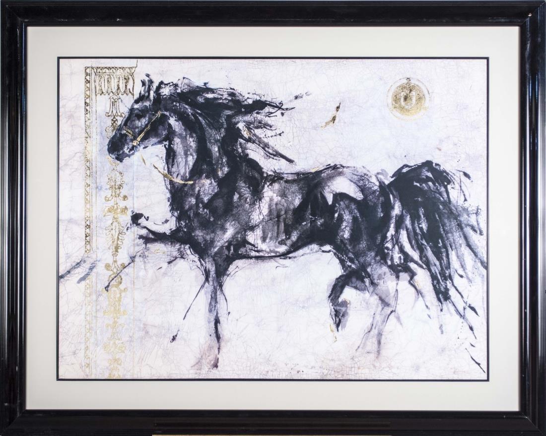 Lena Zepa Horse Print