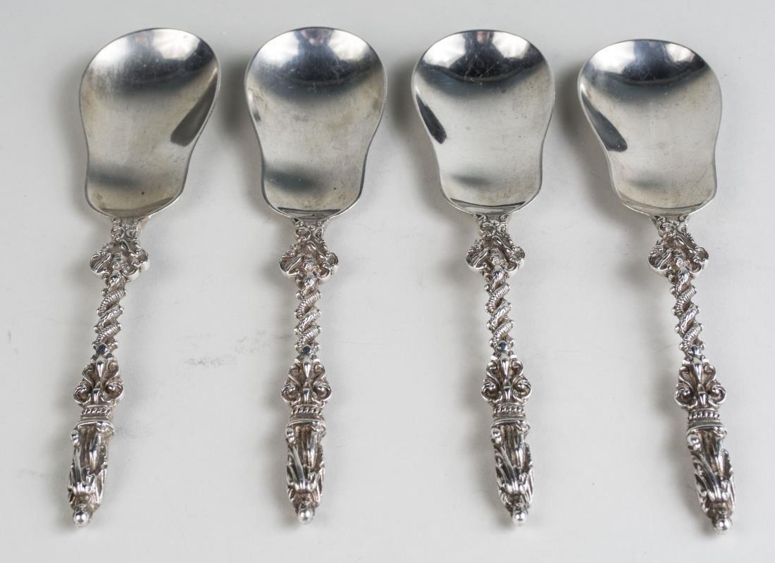 Set of Four English Apostle Style Spoons
