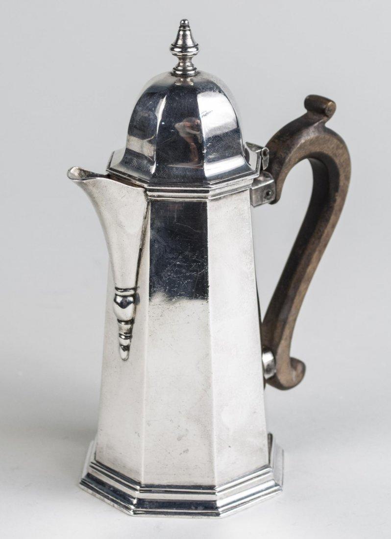 English Silver Pot