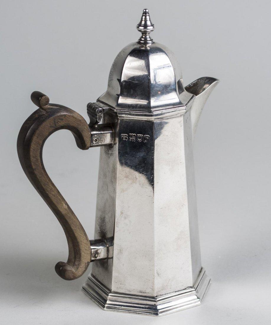English Silver Pot - 2