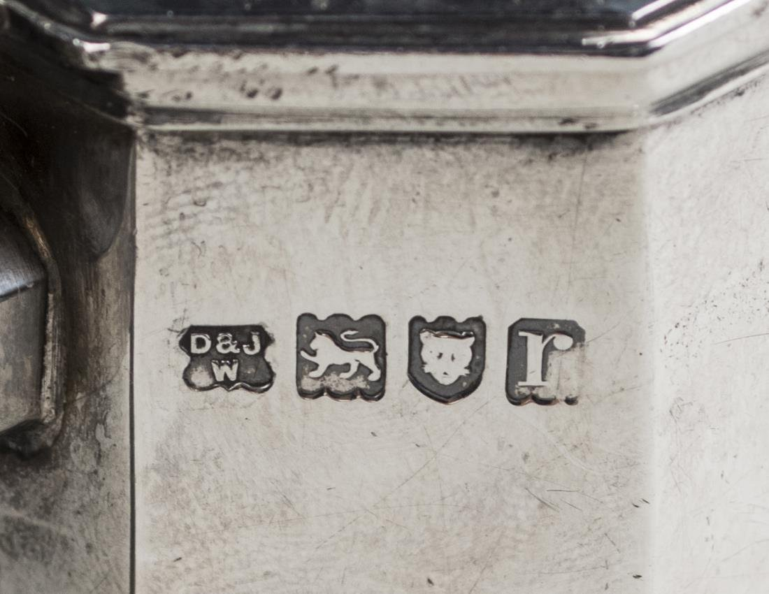 English Silver Pot - 3