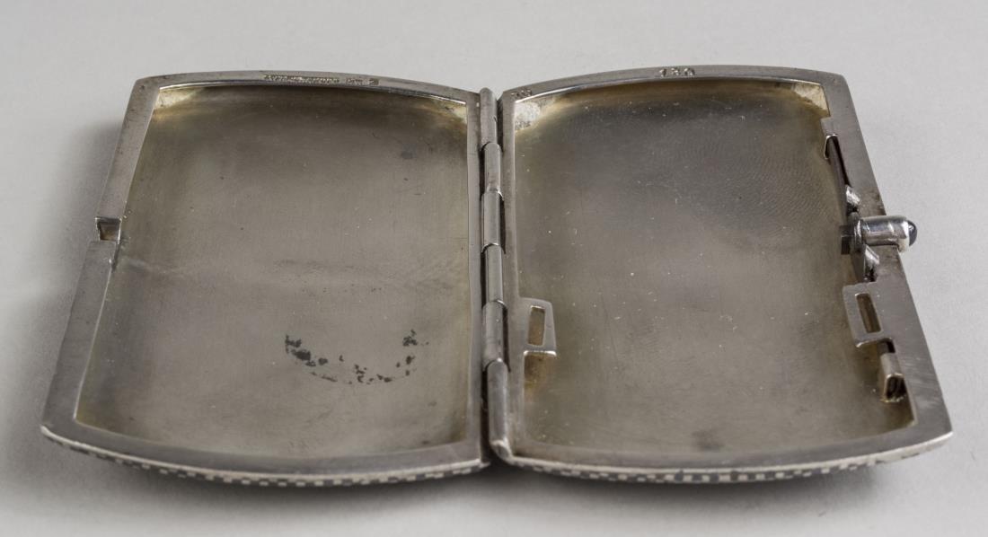Silver Cigarette Case - 2