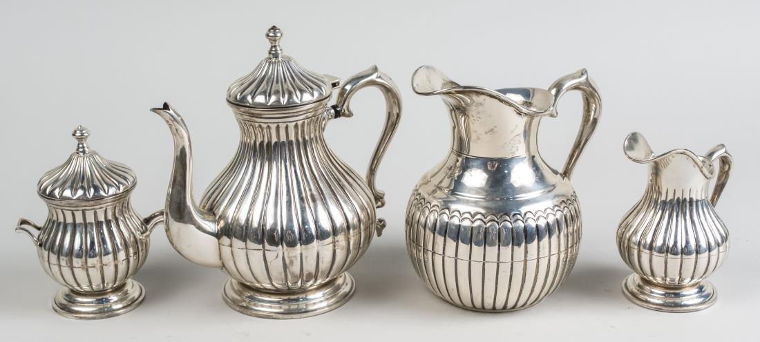 Italian Silver Tea Service