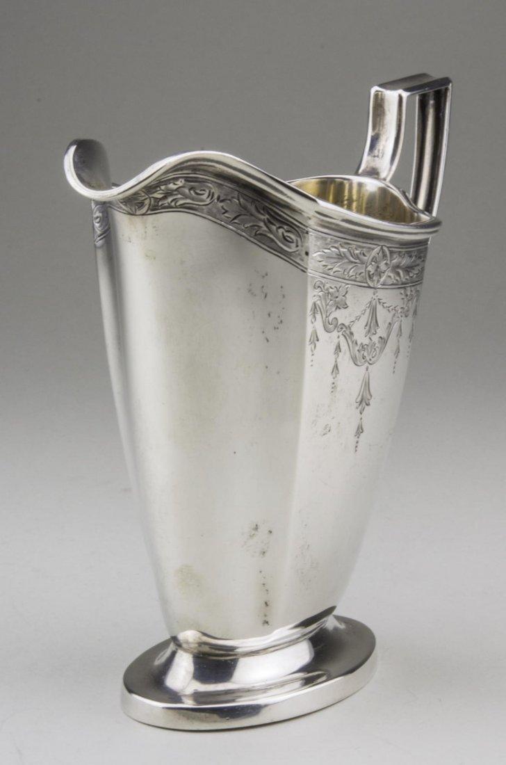 International Sterling Silver Milk Jug - 2