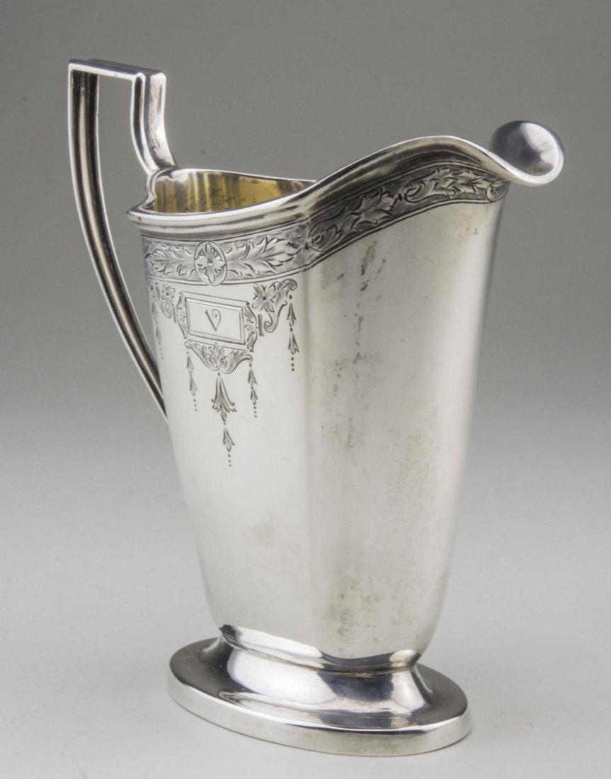 International Sterling Silver Milk Jug - 3
