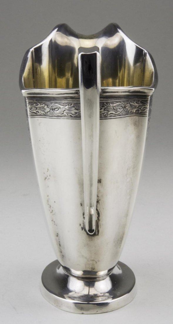 International Sterling Silver Milk Jug - 4
