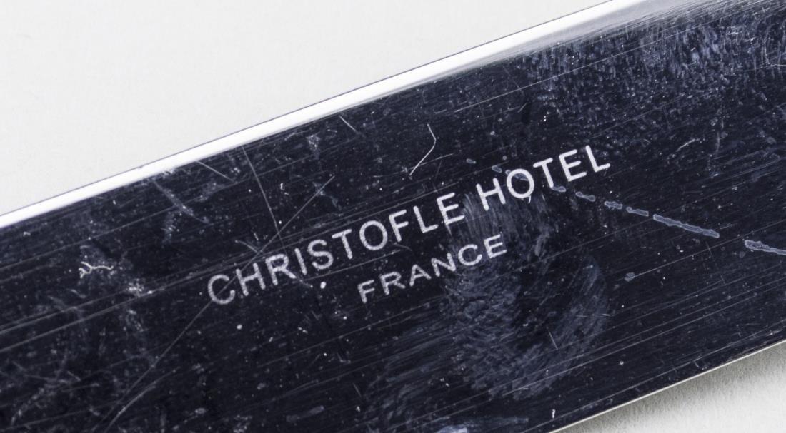 Christofle Hotel Stainless Flatware Set - 2