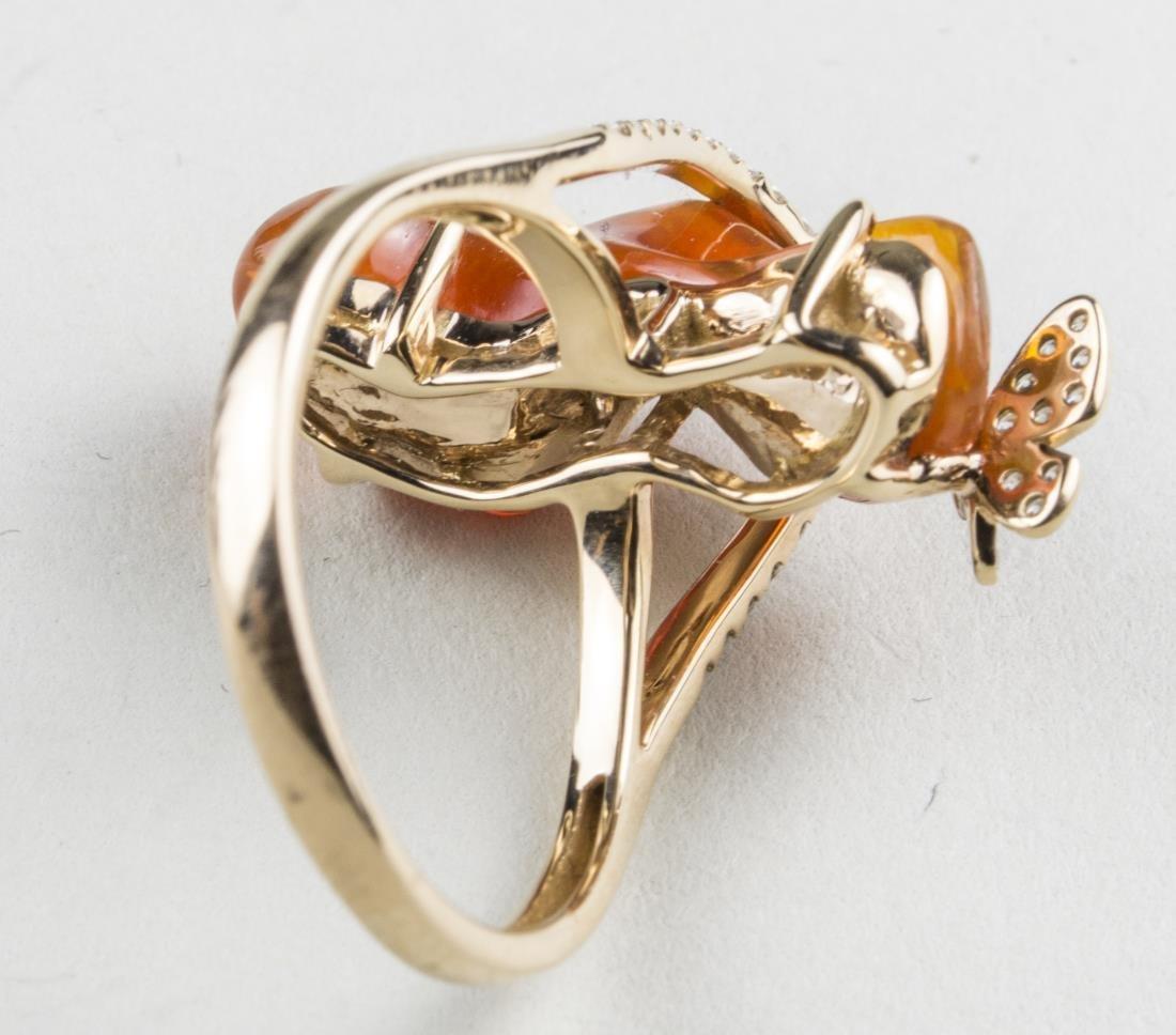 Fire Opal Ring   * - 3