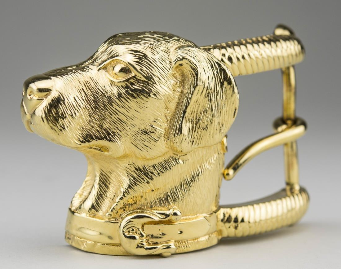 Kieselstein-Cord Art Bronze Belt Buckle