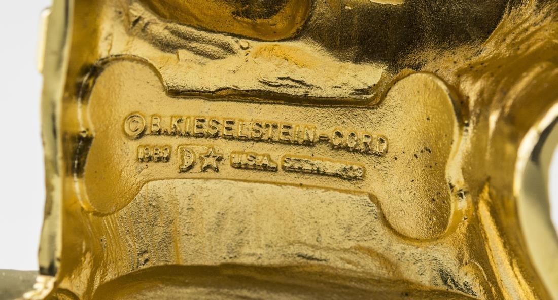 Kieselstein-Cord Art Bronze Belt Buckle - 3