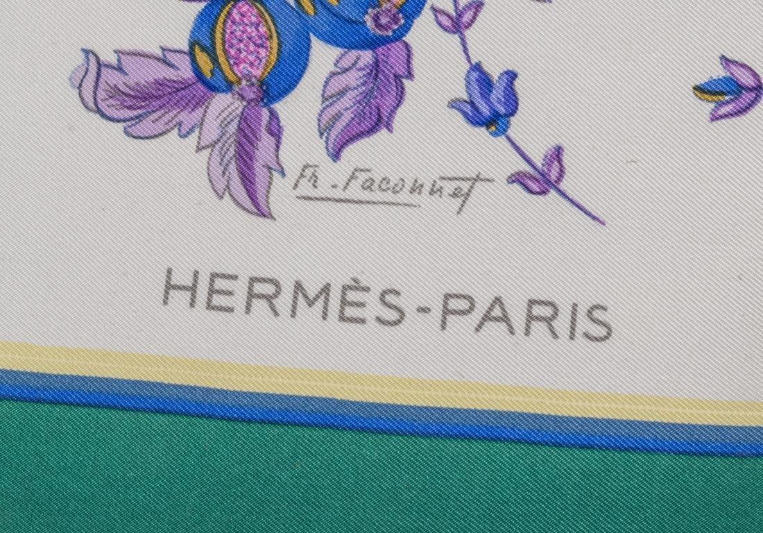 Hermes Silk Scarf - 2
