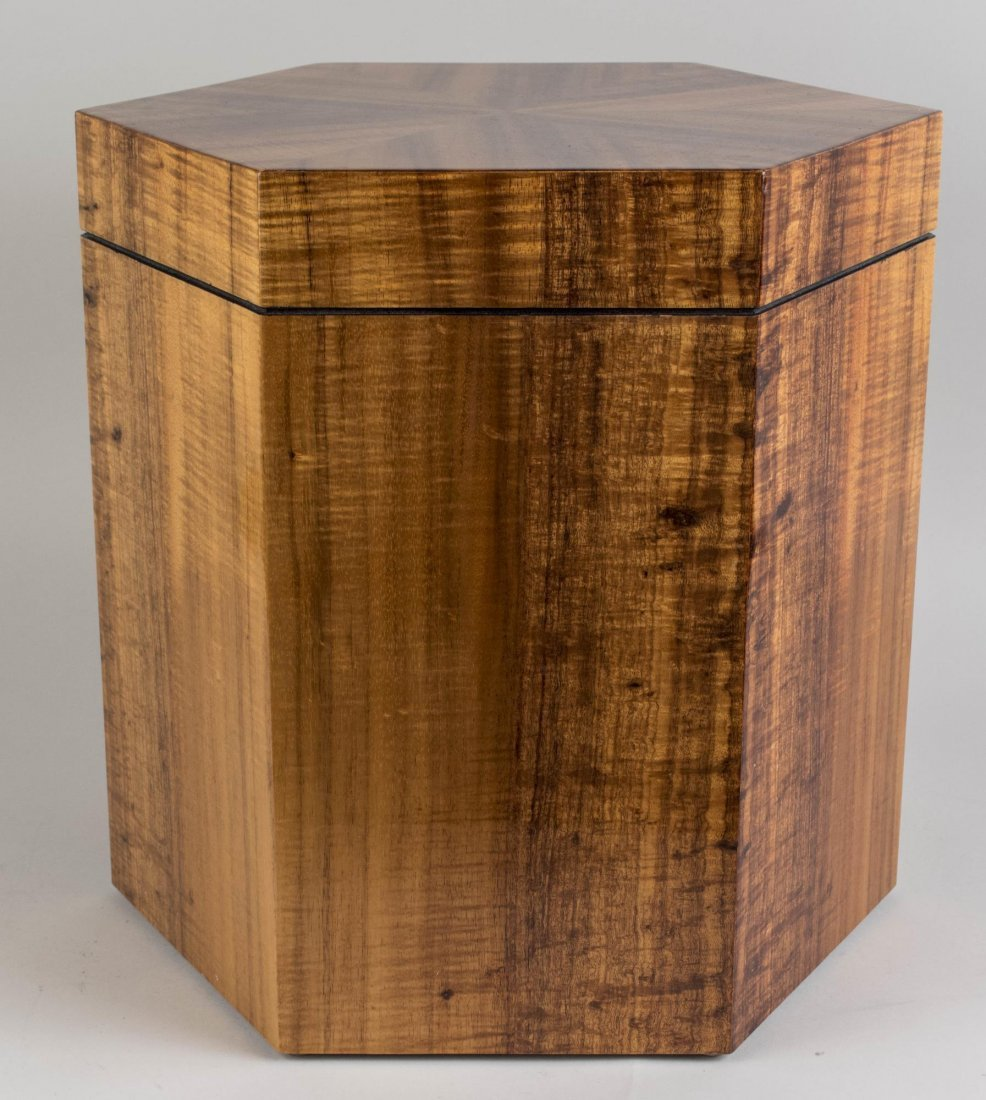 Exotic Wood Side Table