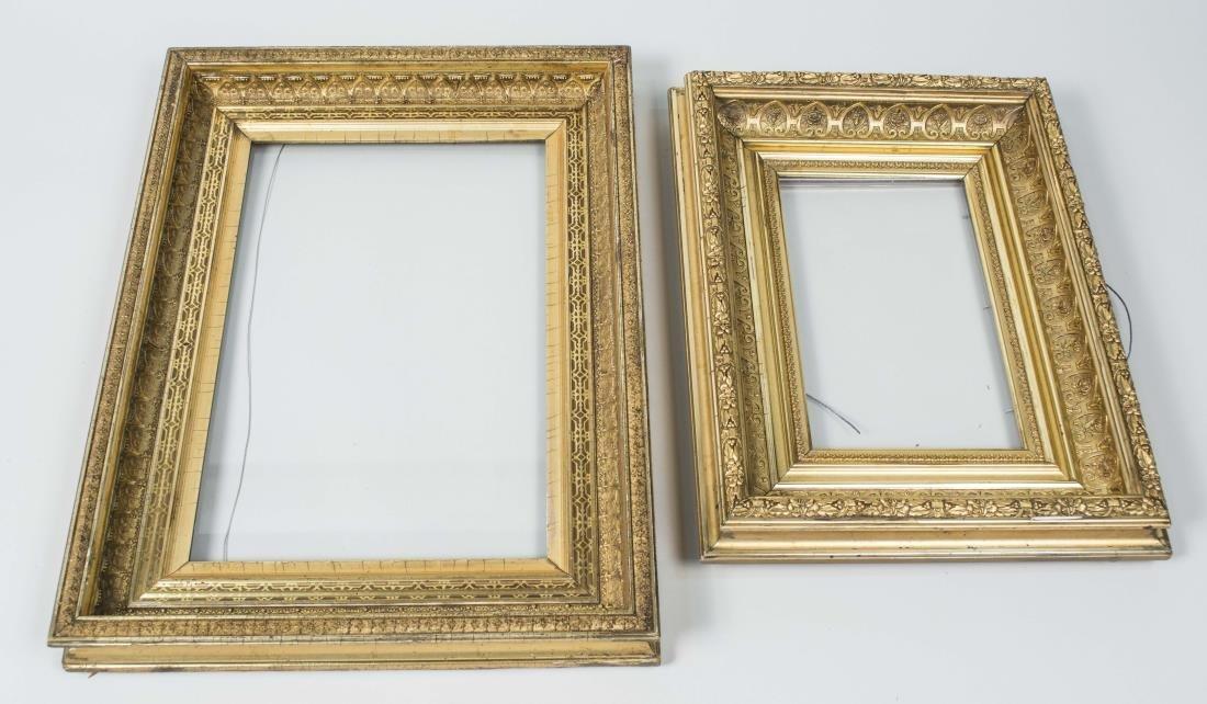 Two Gilt Wood Frames
