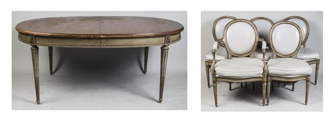 Louis XVI Style Dining Room Suite