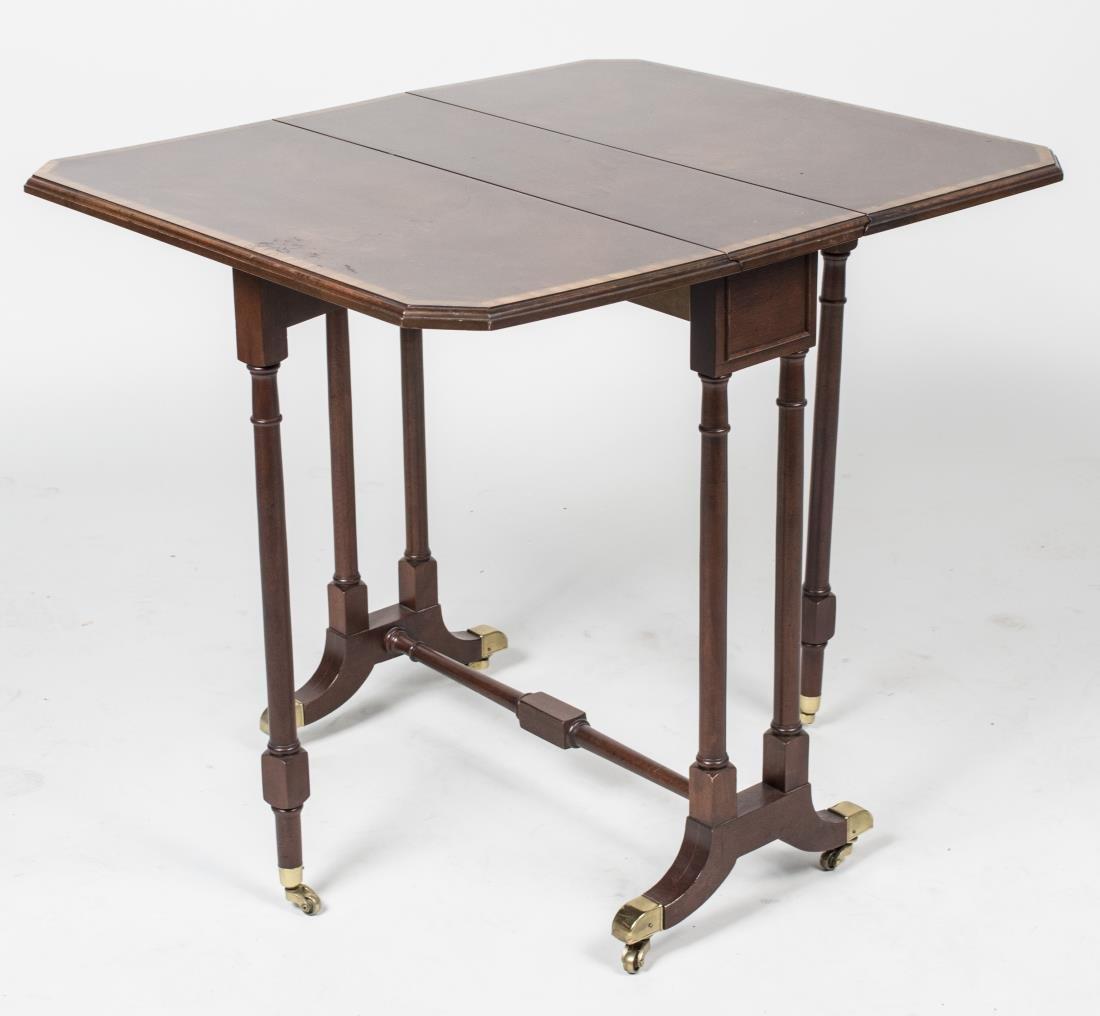 Mahogany Sutherland Style Drop Leaf Table - 2