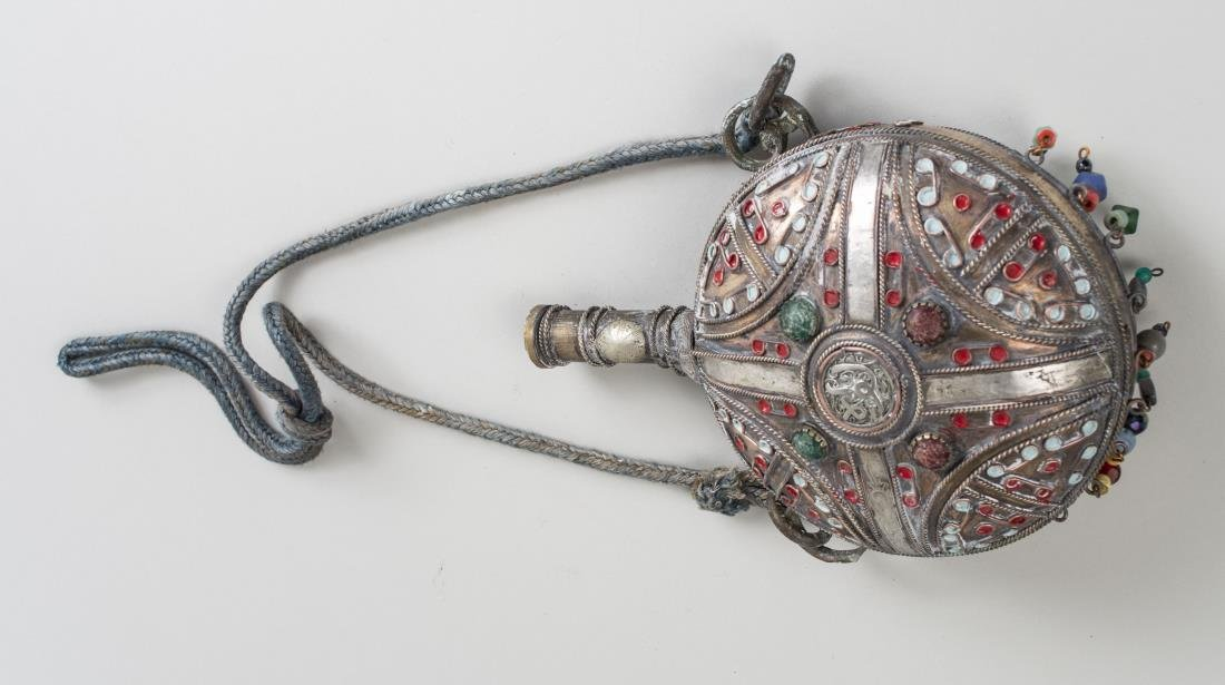 Middle Eastern Metal Canteen