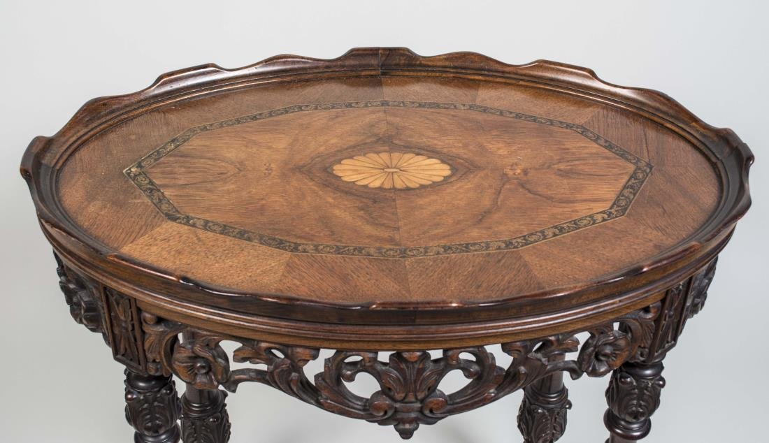 Victorian Style Occasional Table - 2