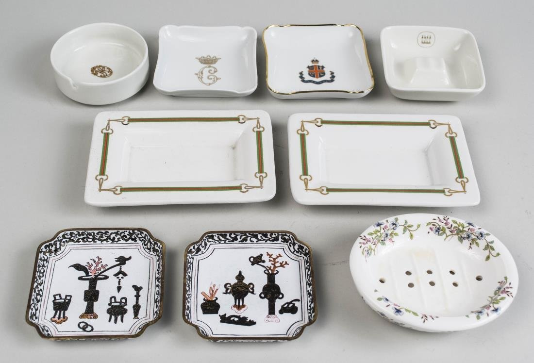 Miscellaneous Group of Porcelain Dishes