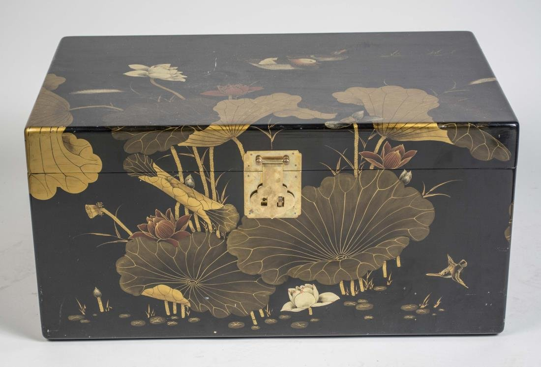 Chinese Lacquered Chest