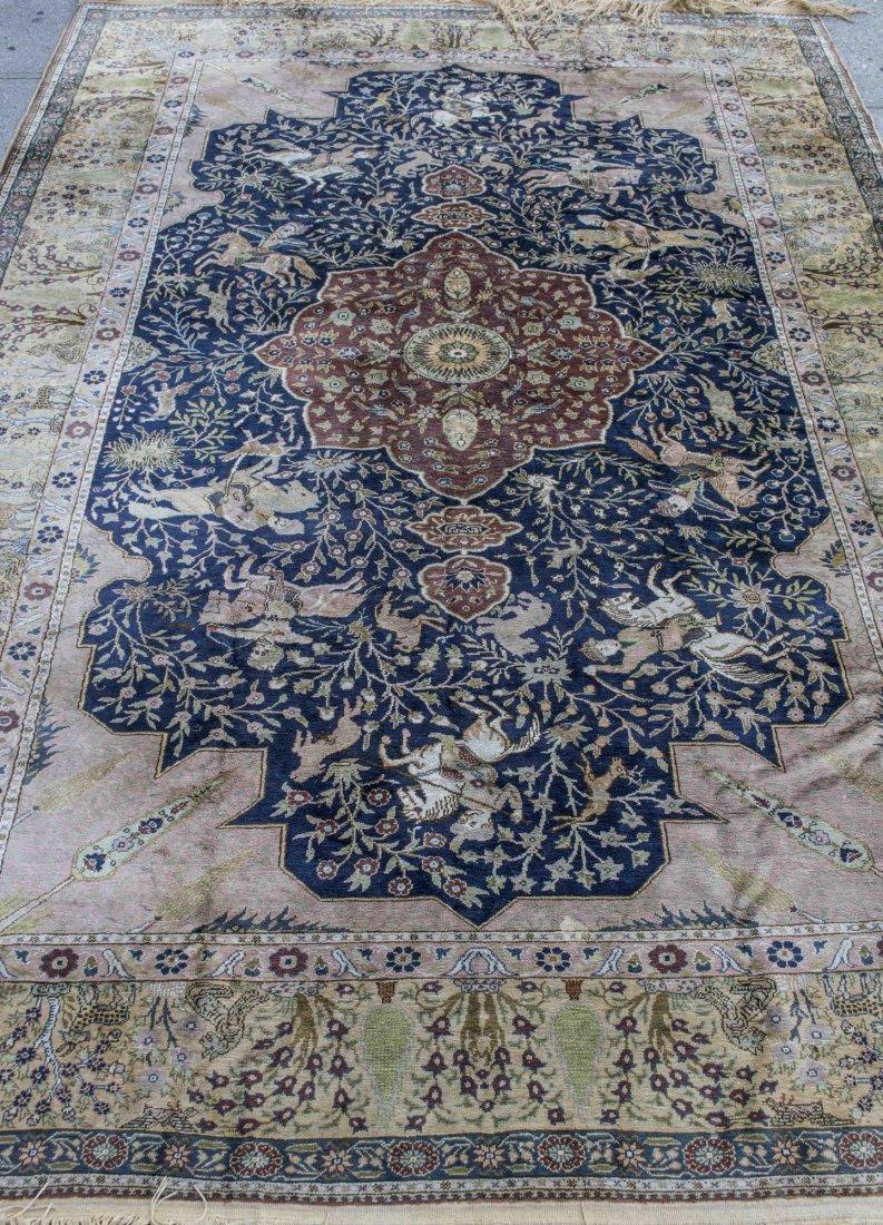 Turkish Kayseri Silk Carpet