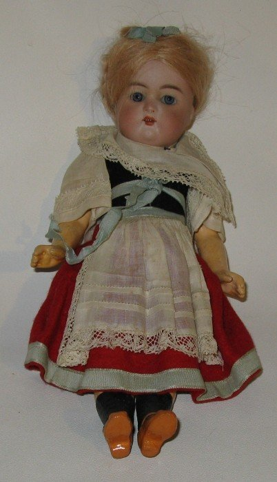 2: #26  Bisque Perfect Head Antique Child Doll