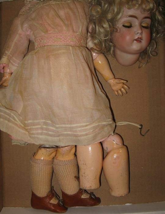 "6: 20"" Kestner Child Doll Circa 1880"