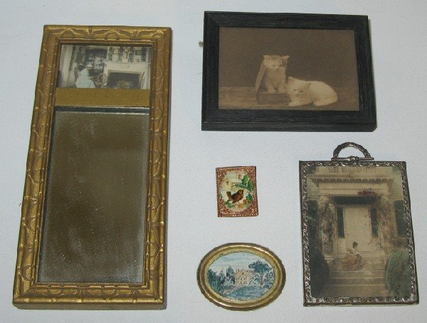 13: Lot Miniature Doll House Pictures: