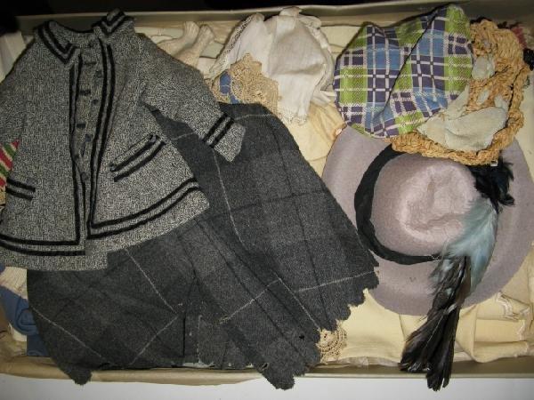 17: Lot Vintage Doll Clothes