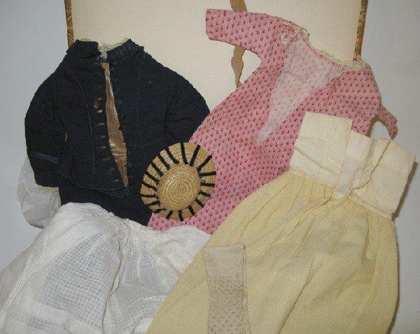 18: Lot Vintage Fashion Doll Clothing: