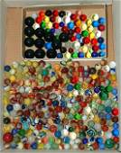 88: Box of over 100 marbles