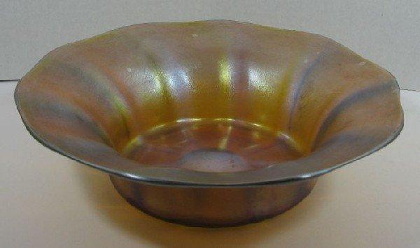 2006: Irredescent Tiffany bowl