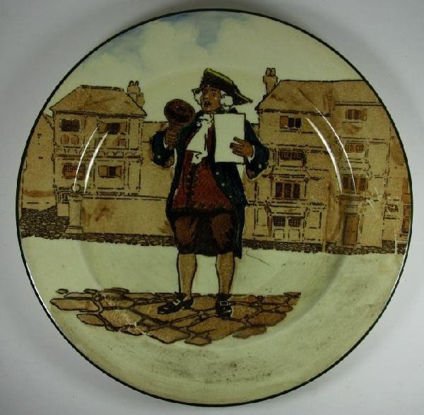 2016: Royal Doulton plate, Town Crier