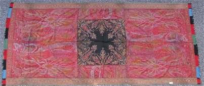 3185: Paisley table cloth