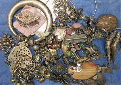 3302: Lot Vintage Sterling Silver Jewelry Signed
