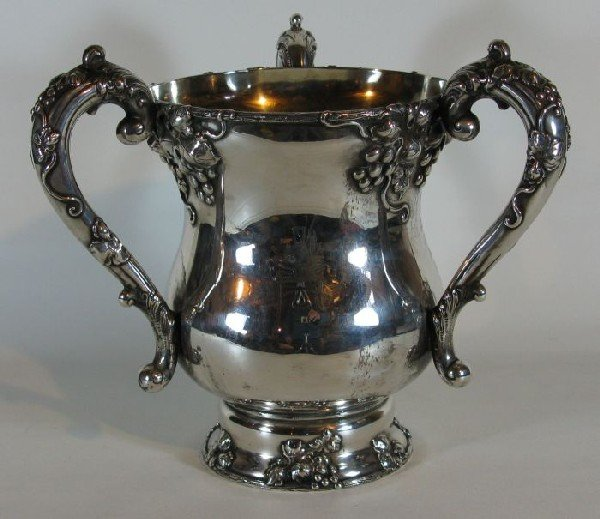 4002: Sterling silver loving cup