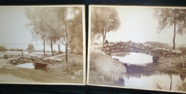 4008B: Two photos of Niagara State Reservation