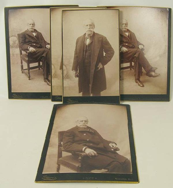 4015: Grouping of A.H.G Photographs