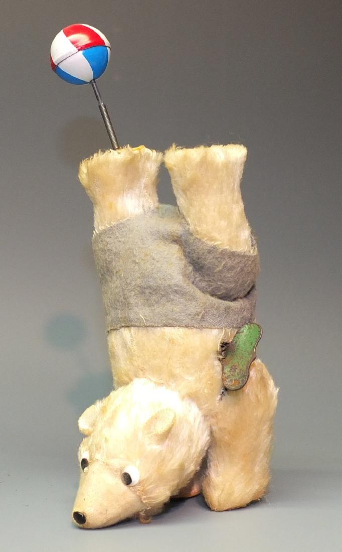 WINDUP CIRCUS PERFORMING HANDSTAND BEAR