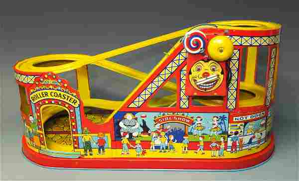 CHEIN #275 ROLLER COASTER & BOX NEW OLD STOCK