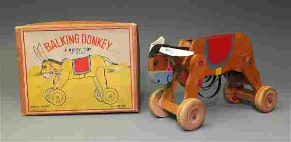NIFTY BALKING DONKEY WINDUP & BOX