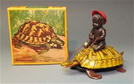 LEHMANN GERMAN SUSI TURTLE WINDUP & BOX