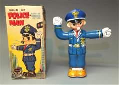 NOMURA TRAFFIC COP POLICE MAN & BOX