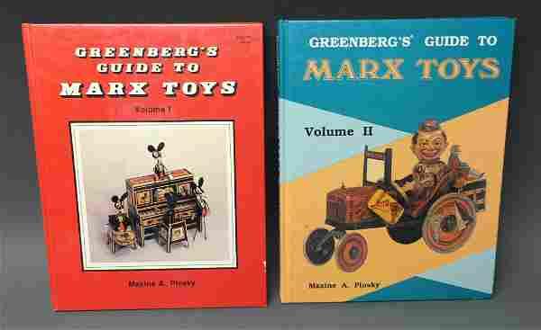 GREENBERG'S GUIDE TO MARX TOYS VOL. I & II BOOKS