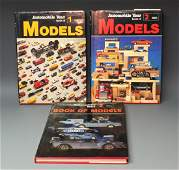 3 AUTOMOBILE YEAR BOOK OF MODELS CAR BOOKS