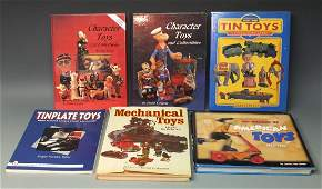 LOT OF 6 ANTIQUE & VINTAGE TOY GUIDE BOOKS
