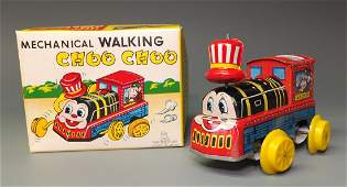 TPS WALKING CHOO CHOO WINDUP & BOX