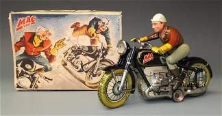 ARNOLD GERMAN MAC MOTORCYCLE & BOX
